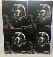 Star Wars Black Series Shadow Trooper Voice Changer Electronic Helmet SEALED