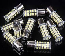 10X Super White 68 SMD RV Camper Trailer LED 1156 1141 1003 Interior Light Bulbs