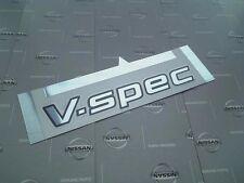 JDM OEM NEW NISSAN SKYLINE 34 R34 GTR V-SPEC EMBLEM DECAL GENUINE JAPAN