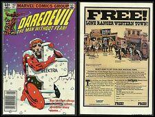 Daredevil #182 VF/NM (1982, Marvel) PUNISHER DEATH of ELEKTRA FRANK MILLER ART!
