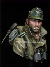 Young Miniatures German Gebirgsjager YM1836 WW2 1/10th Unpainted Bust