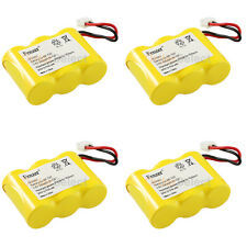 4x NEW Home Phone Battery for Sanik S-SJC 3N-270AA ZG Sanyo 23618 MTM GES-PCH03
