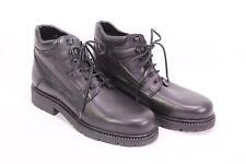 C349 Derbe Outdoor Schnürstiefel Boots Leder schwarz Gr. 40 gefüttert ungetragen