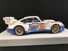 RS0017 REVO SLOT PORSCHE 911 GT2 WHITE BLONDES GITANES #86  1:32
