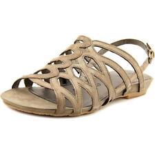 Flat (0 to 1/2 in.) Leather Slingbacks Sandals & Flip Flops for Women