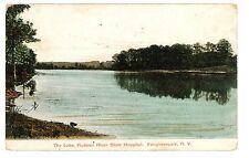 Poughkeepsie NY - THE LAKE AT HUDSON RIVER STATE HOSPITAL - Postcard
