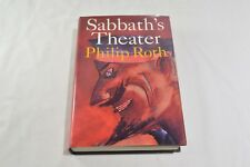 SABBATH'S THEATER by PHILIP ROTH HCDJ - FIRST EDITION / FIRST PRINTING