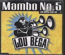 Lou Bega - Mambo No 5 CD (Single VGC)Lou Bega - Mambo No 5
