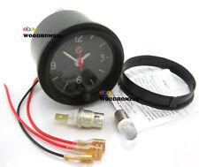 12 Volt Clock Car Dashboard Rare Retro Cars Repair Restoration LED Backlight