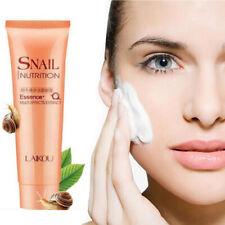 100g LAIKOU Snail Facial Cleanser Anti Aging Natural Facial Wash Exfoliating ~