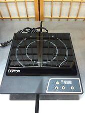 Max Burton 6000 1800-Watt Portable Induction Cooktop, Black, Must Read All!