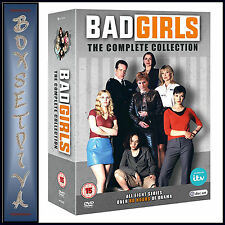 BAD GIRLS - THE COMPLETE COLLECTION - SERIES 1 2 3 4 5 6 7 & 8 *BRAND NEW DVD***