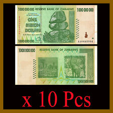 ZIMBABWE 10 TRILLION DOLLAR  BANKNOTES w//Free Shipping Reduced to $5.49 EACH