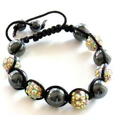 Multicolor Shamballa Armband Power Beads BALLS Women's Wrist Band Men's Bracelet