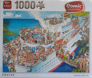 PUZZLE / COMIC COLLECTION CRUISE 1000 TEILE