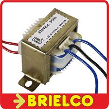 TRANSFORMADOR DE CHASIS ABIERTO 12VA DE 220VAC A 2X12V 500MA 42X35X42MM BD2516
