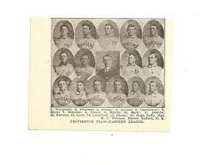 Providence Grays 1907 Team Picture Hugh Duffy Harry Lord Forrest Crawford