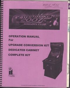 Silver Strike 2007 Bowlers Club Operation Manual For Upgrade 2006 Inc 092717DBE