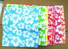 12 LARGE HIBISCUS FLOWER Totes Bags Tropical Beach Luau Pool Party Favor