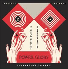 """INTERPOL Everything is Wrong 7"""" Sticker Record Store Day 2015 2018 Hot Cross rsd"""