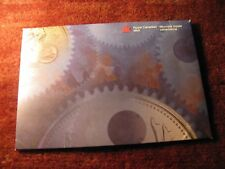 Canada 1999 P Plated Test Coin Set Very Rare Special Edition Proof Like Set.
