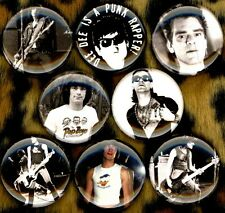 Dee Dee Ramone 8 NEW 1 inch buttons pins badges punk 53rd & 3rd king rapper