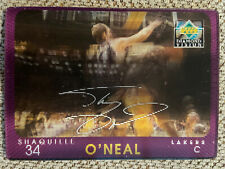 Shaquille O'Neal 1997-98 Upper Deck Diamond Vision Signature Moves #S13 Lakers