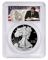 2019 S 1oz Silver Eagle Proof PCGS PR70 DCAM - Liberty Coin Act Label