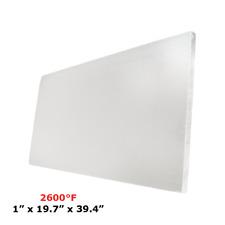 "1"" Refractory Ceramic Fiber Insulation Board 2600F 19.7"" X 39.4"""