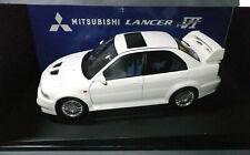 AUTOart 1:18 Scale Mitsubishi Lancer Evolution 6 White Boxed