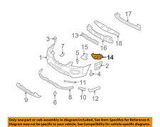 KIA OEM 09-10 Rondo Front Bumper-Blank Cover Left 865171D051