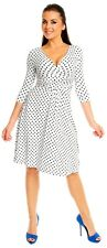 Polka dot dress for woman all sizes 8 10 12 14 16 18 new save 50% pin up 1950's