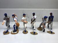 6 Figure Starting Lineup Lot ~ Chicago Cubs SLU MLB 1991-1999