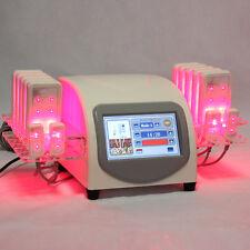 14 laser pads Lipolysis Body Slimming Fat removal lipo massage beauty Machine