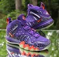 Nike Barkley Posite Max Men's Size 8.5 Phoenix Suns Purple Orange 555097-581