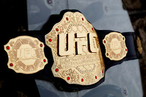 UFC Championship Belt Ultimate Fighting Replica Belt Adult 4mm christmas gift