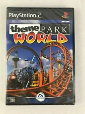 PS2 Theme Park World (2002), Brand New & Factory Sealed, Tiny Nick