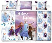 Official Frozen 2 Duvet Covers Single/Double Reversible Bedding Elsa Anna Olaf