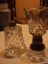 Home Interior/ set of 2/ votive cups/ tulip cut/  Specials/