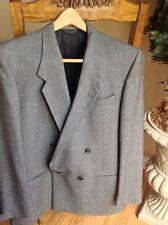 Cartier Men's Gray Double-Breasted Jacket Blazer Beautiful EUC! SZ 40