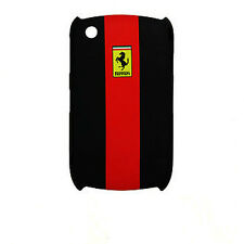 CUSTODIA FERRARI RUBBER TOUCH BACK CASE FACEPLATE per BLACKBERRY 8520 9300