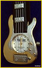 New Gold Strat Guitar Watch w/ Guitar Case - 1 Year Warranty