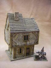 28MM pmc games ME86 (peint) two storey house offset toit-médiéval