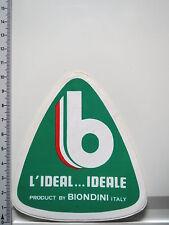 Aufkleber Sticker Adesivo L'Ideal Ideale Biondini Italy (IT1075)