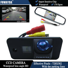 4.3'' Mirror Monitor CCD Reverse Camera for AUDI A3 S3 A4 S4 A6 A6L S6 A8 S8