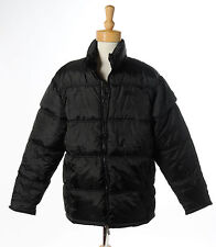 New SOUTHPOLE MEN`S EXPEDITION COAT JACKET SIZE L NEW BLACK LINED