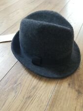Mens Wool Fedora Hat L-XL NWT