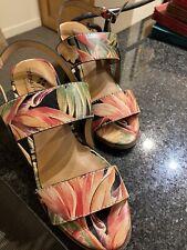 Patricia Nash Romana Sandals Size 9