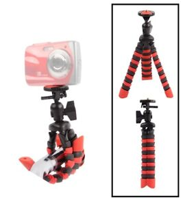 "Vivitar Flexible 7"" Tripod For Canon Sony Nikon Pentax Panasonic Samsung Fuji"