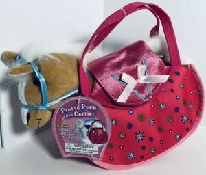 (1) PRETTY PONY AND CARRIER by POLYFECT TOYS, Ages 3+ NEW WITH TAG!!!